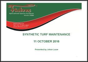 johan LOUW maintenance principles