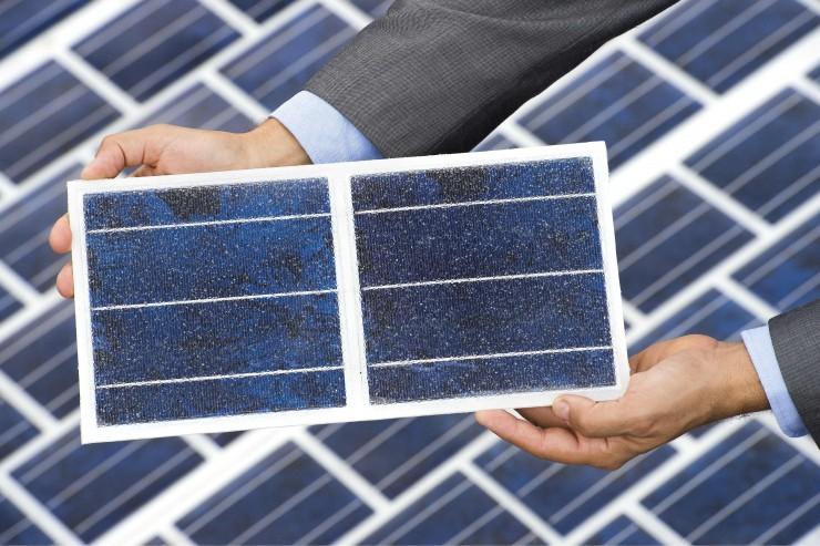 Solar panels used to make Wattway