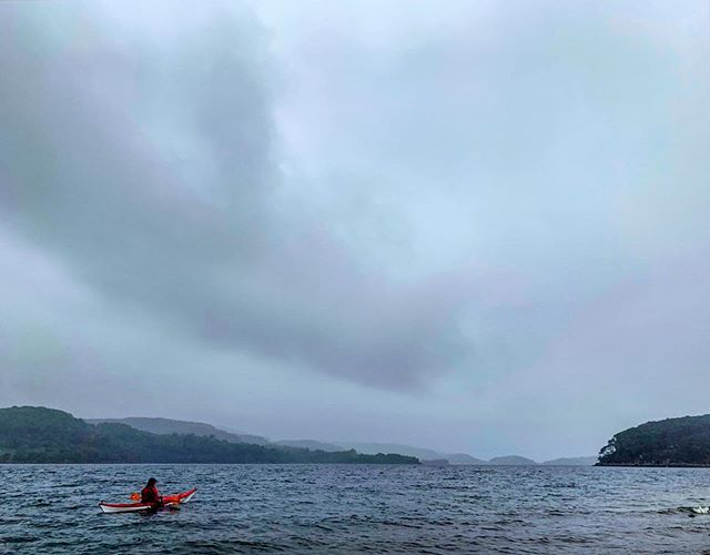 Grey day on the loch but brightened up by seeing two 🦅 and an otter. #shieldaigoutdooradventures #shieldaigadventures #nc500adventure #nc500 #seakayaking #torridon #shieldaig #scotland #eagles #otters
