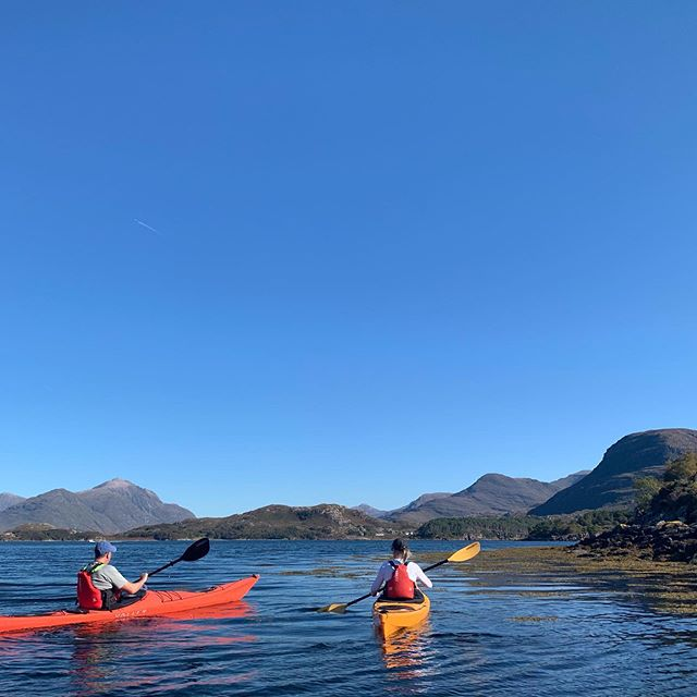 A busy weekend with a beautiful day kayaking on Saturday followed by an evening call out for @torridonmrt and guiding on Beinn Alligin on Sunday. #shieldaigoutdooradventures #shieldaigadventures #seakayaking #mountainwalking #torridon #shieldaig #scotland #mountainrescue #torridonmrt  Go follow @torridonmrt now and show them some support!!!