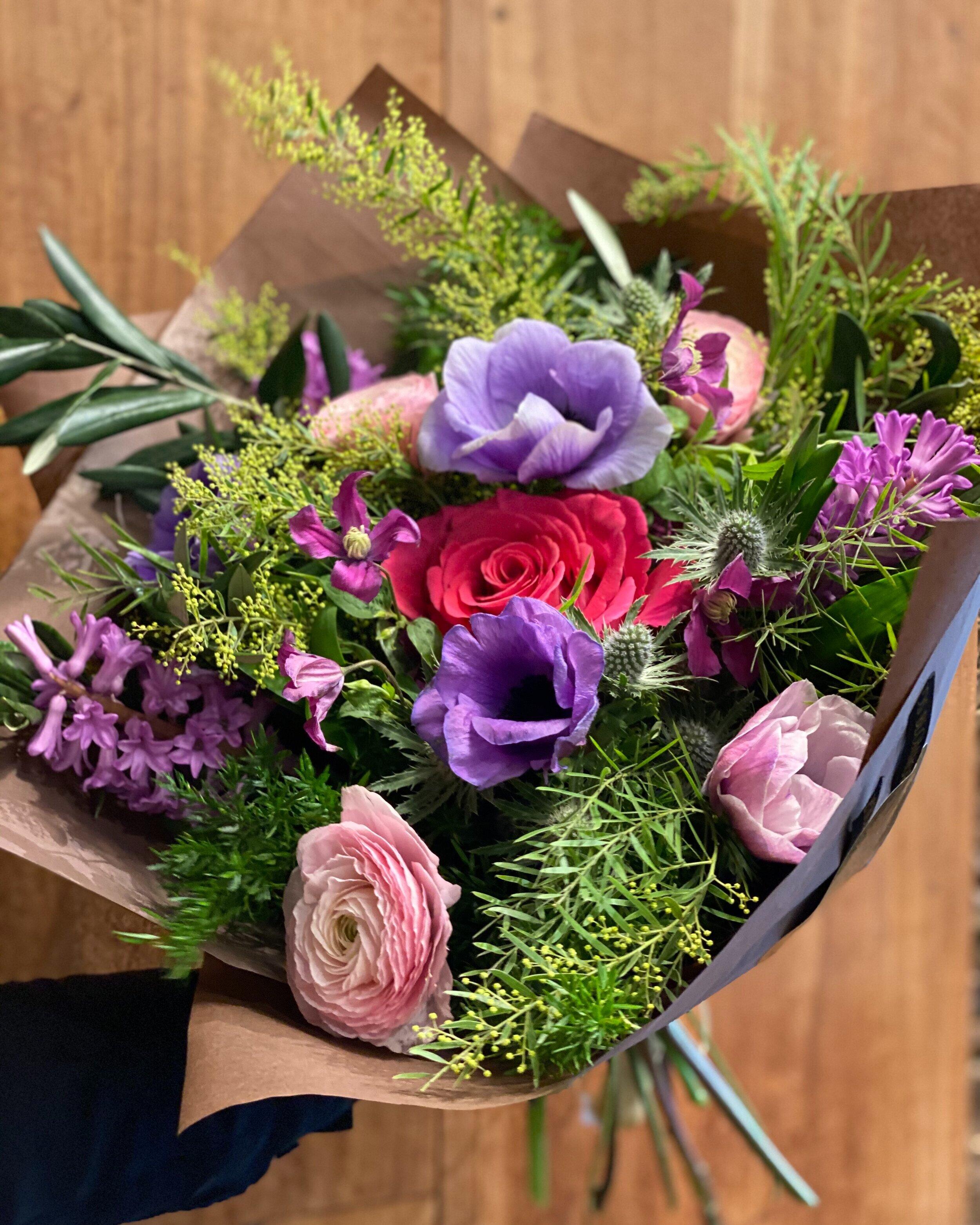 skicka blommor julafton
