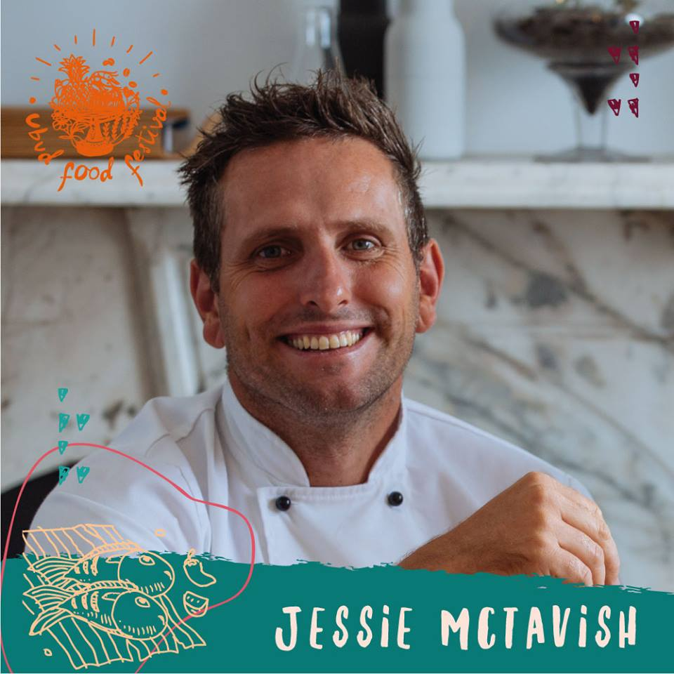 The Kettle Black's Chef-Director, Jesse McTavish