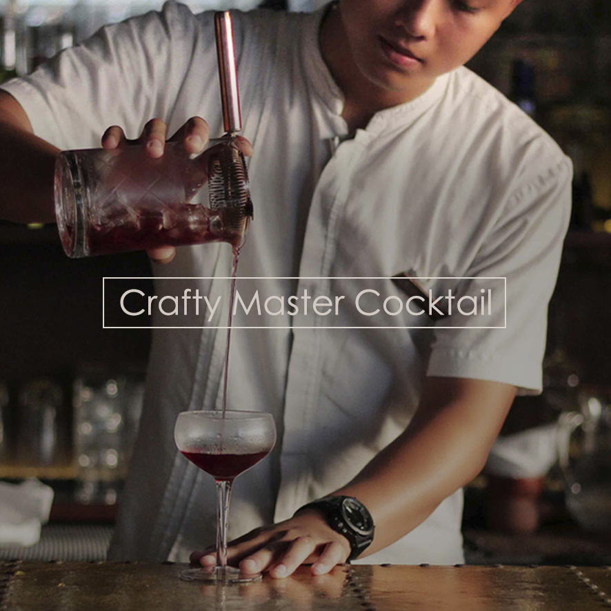 Crafty Master Cocktail every Saturday from 4-5 PM