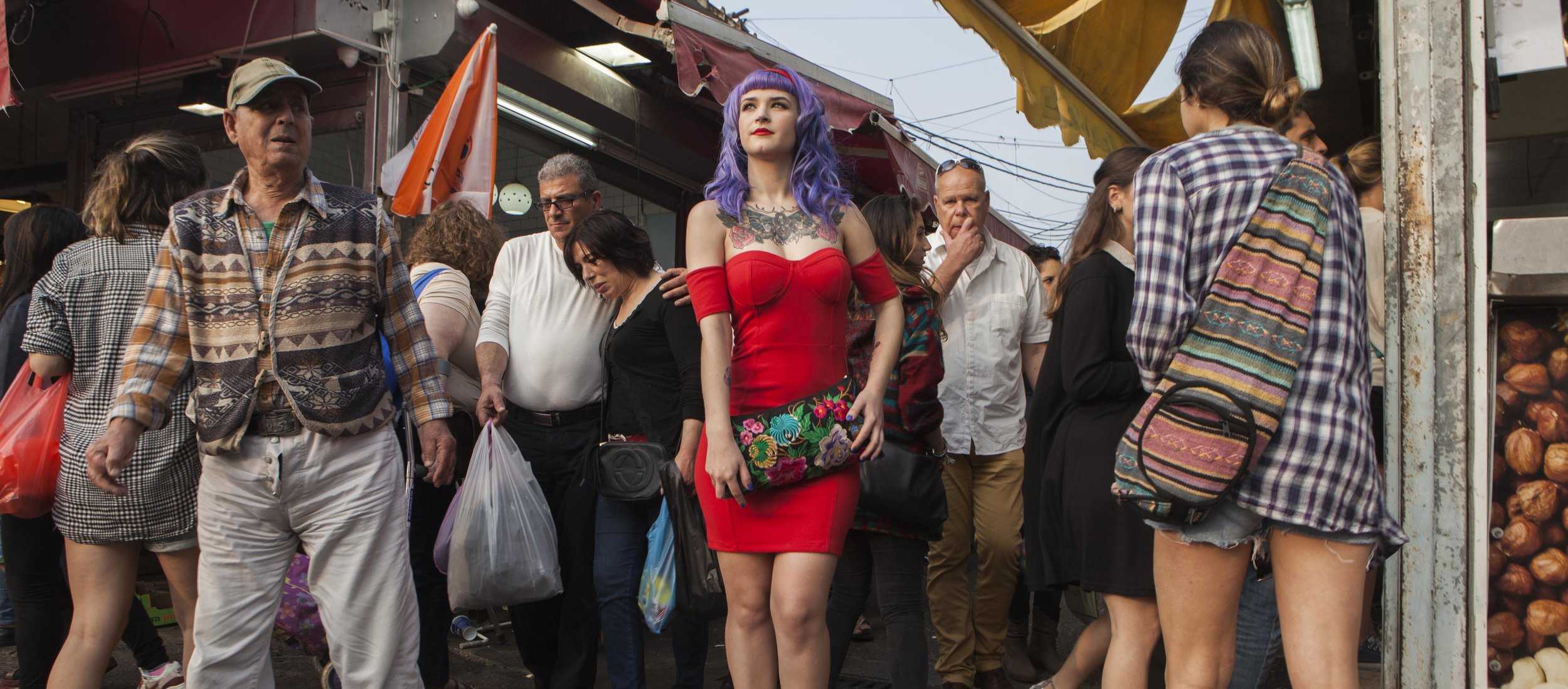 "The human body as a work of art    at The Eretz Israel Museum """"Girls"" explores the experience of tattooed Israeli women in the public Israeli space"