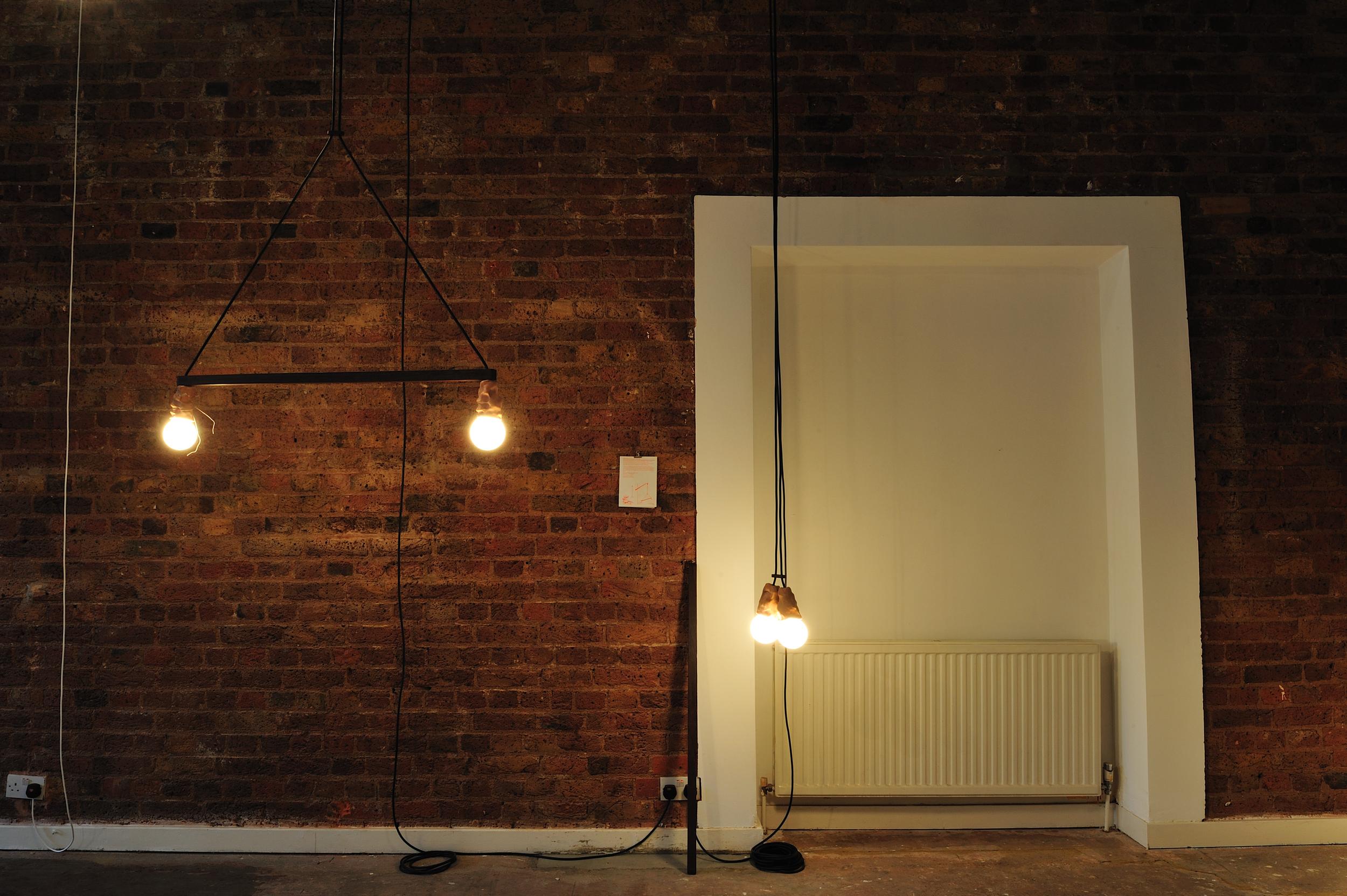 Spread Bar Lamp Eelko Moorer at Okay Studio The Visitor show