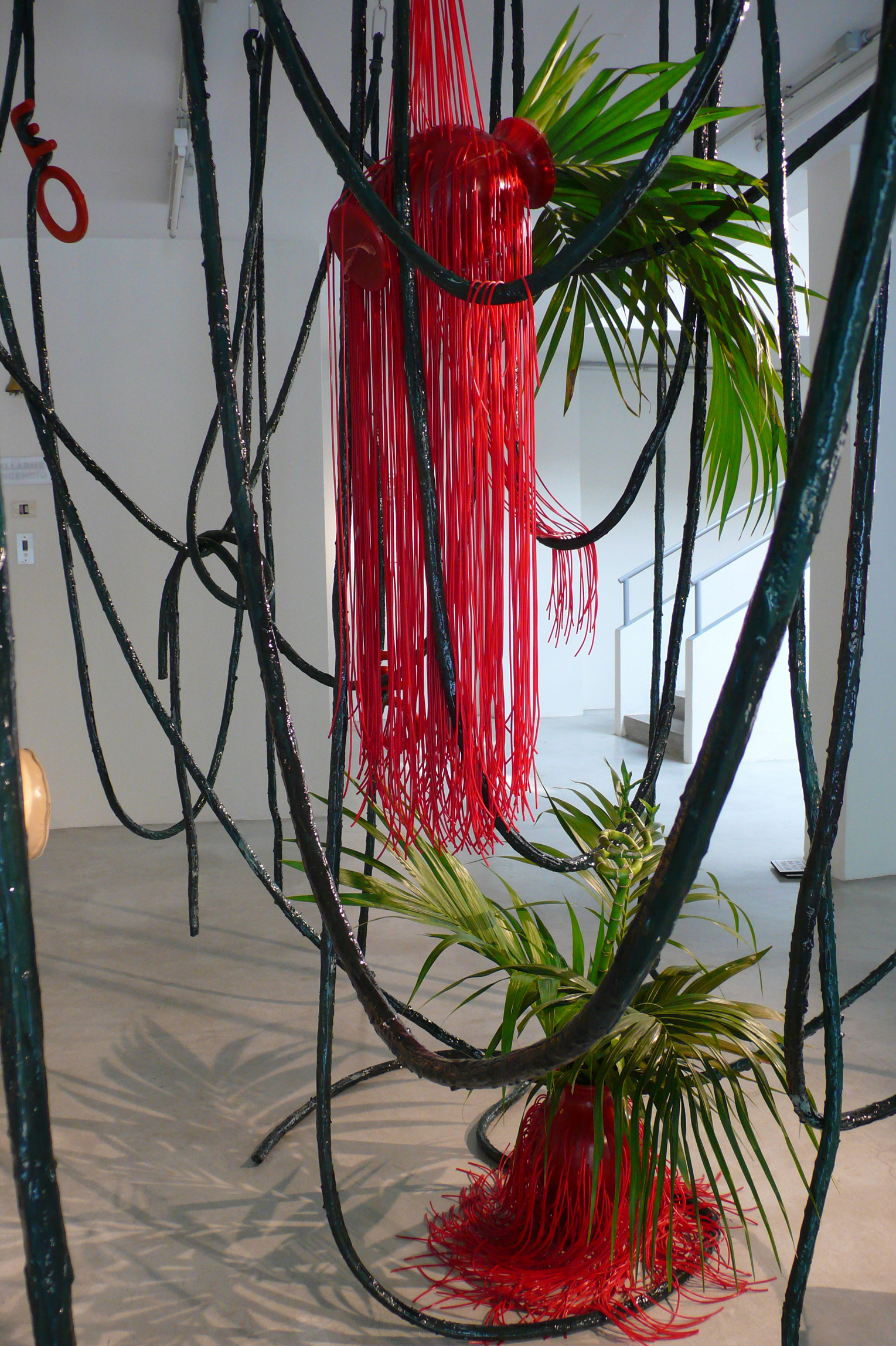 The Jungle installation Eelko Moorer at Paul Smith HQ Milan