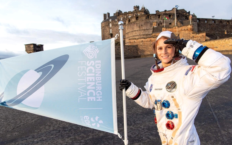 Photo Credit: Edinburgh International Science Festival