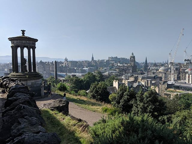 Today on tour! #minimack #edinburghsshame #edinburghskyline #edinburghskyline