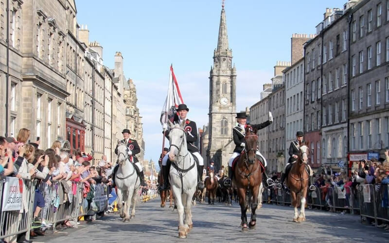 Photo Credit: Edinburgh Riding of the Marches
