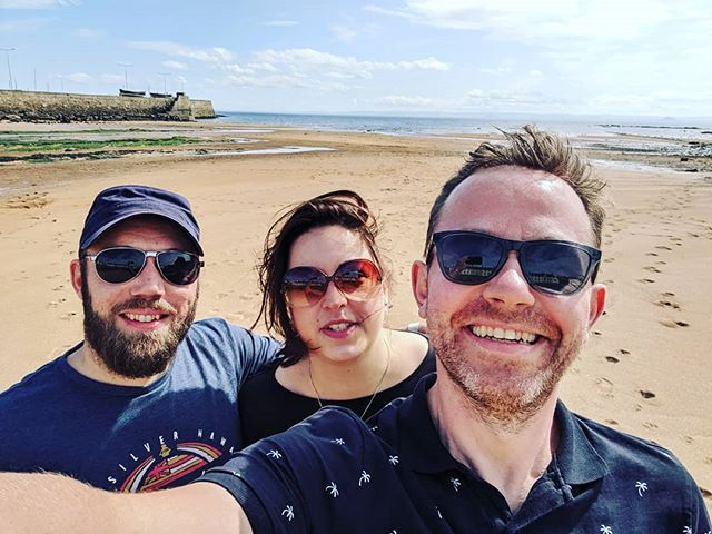 A wee trip to Anstruther for the best fish n chips in the world....with decent weather! #minimackers #minimack #lovefife