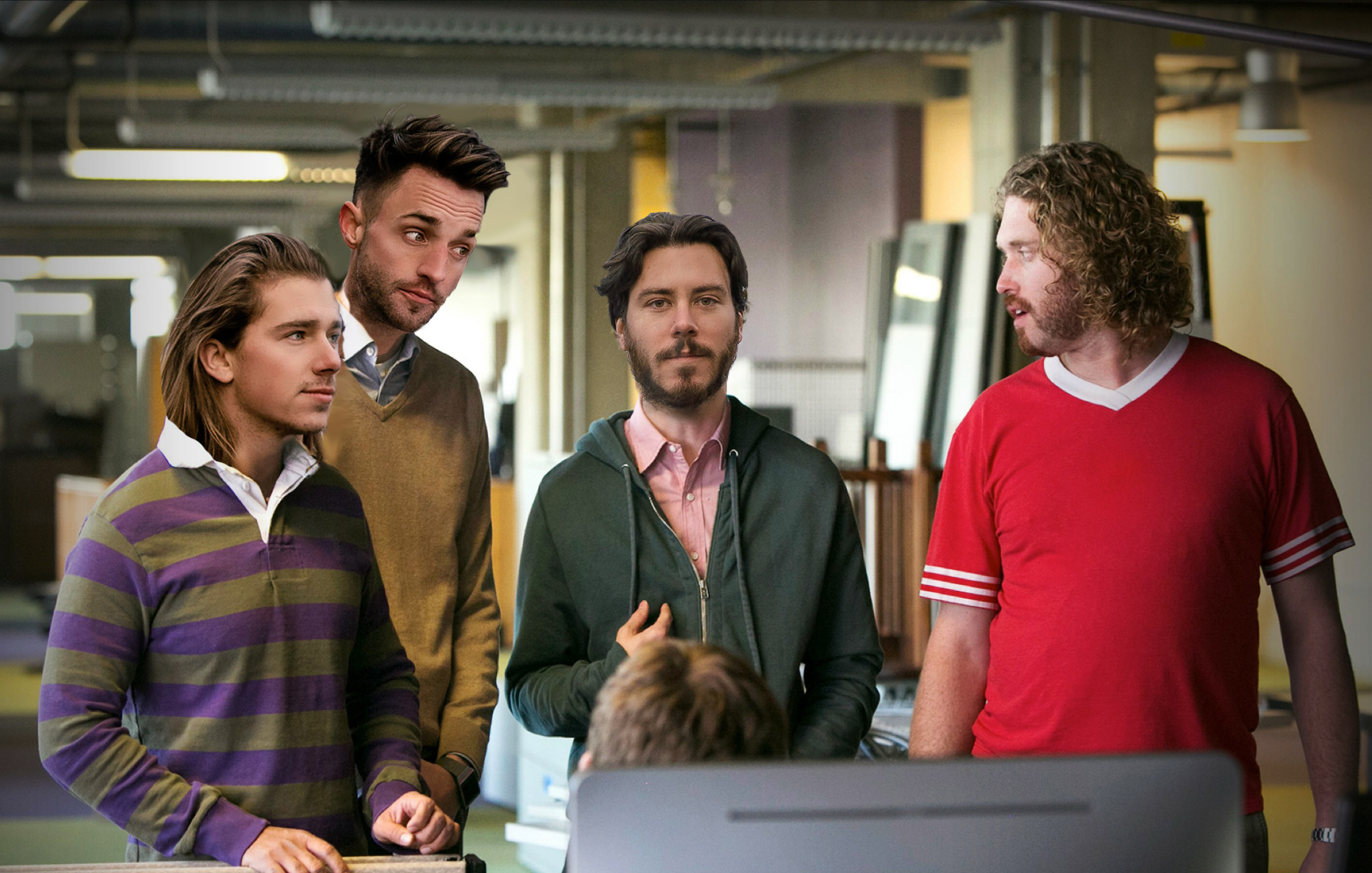 That time Sickboy had a cameo on  Silicon Valley