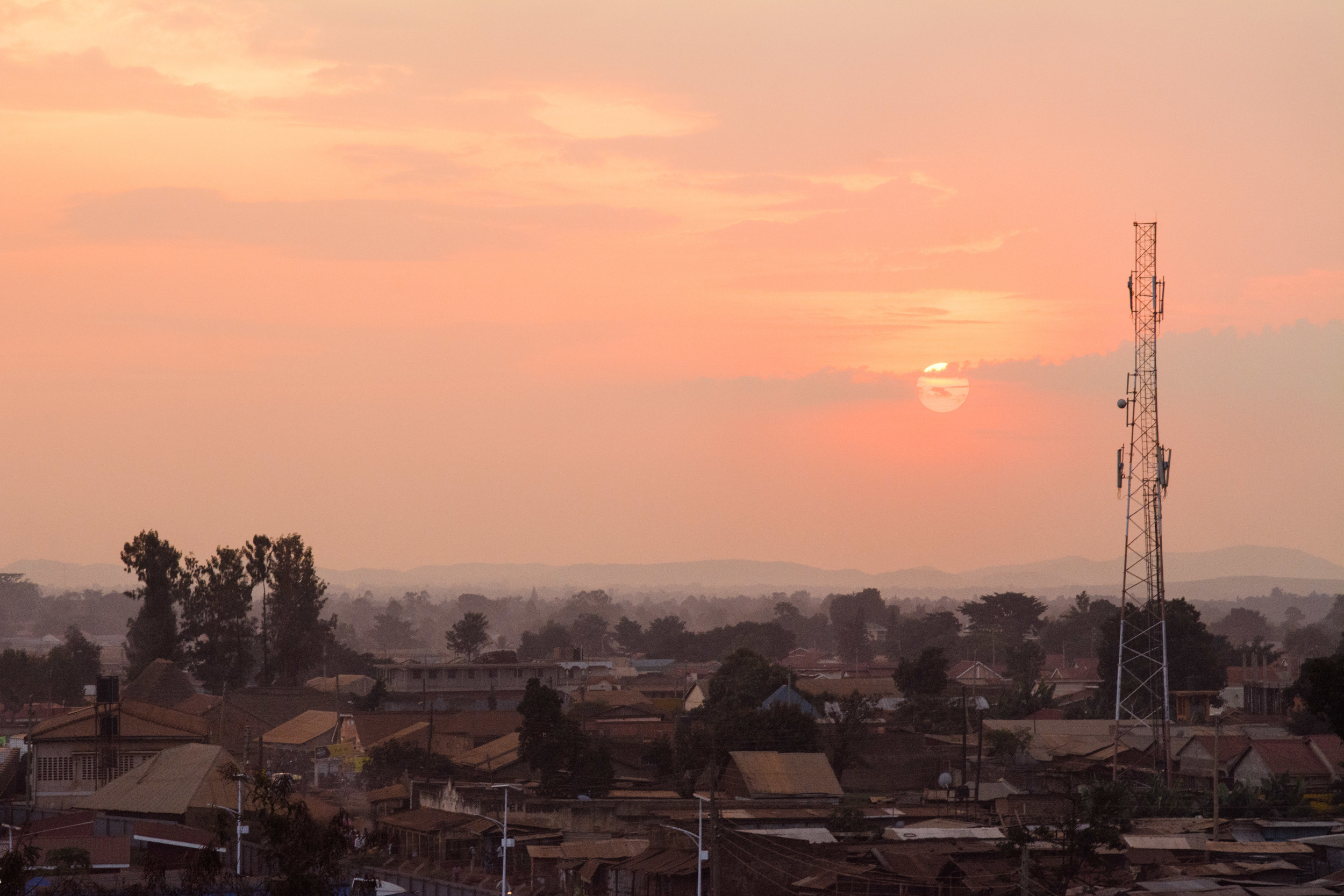 Sunset in Busia