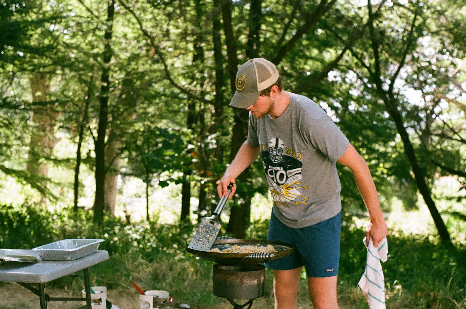 Jacob, master breakfast maker