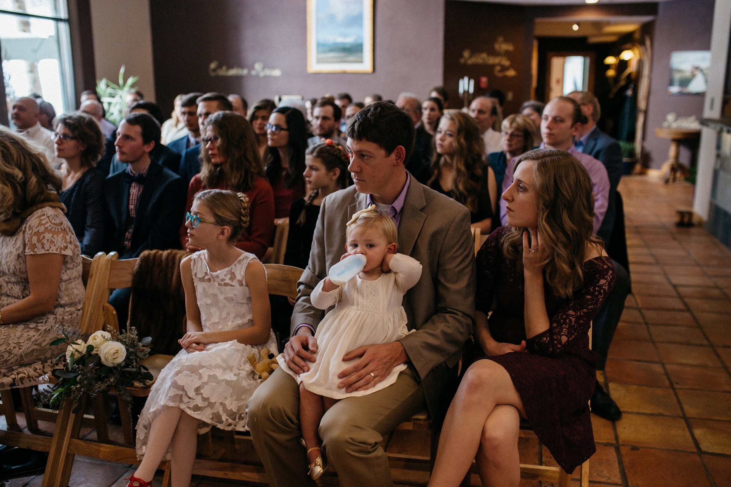 I love looking at the pictures Lydiah took of everyone at the ceremony--I had such tunnel vision the entire time, I had almost no idea where anyone was sitting or how they looked. It is the sweetest gift to have these photos now.