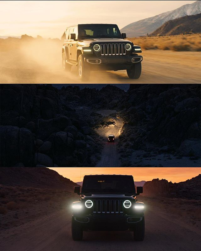New work for @glassandmarker for Jeep. I have a huge crush on the Wrangler and it's never looked better... especially with the Alabama hills in the background!  Directed by @laurentylerbrimeyer and @bushell_jack  DP: @kasmolic  Producer: @neilthekdi @eatmorecitrus  Edit: @callaird  VFX: @peter__timberlake @samuelgnoble Color: @edwardsdan