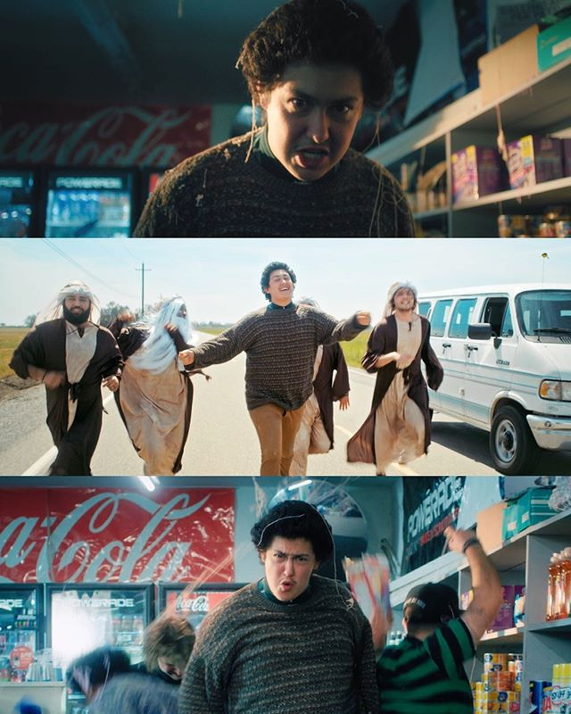 """New stills for Hobo Johnson's """"Typical Story""""  This was so much fun - and @cory.burmester absolutely nailed it on these frames!  Directors //@cory.burmester&@dylan_burzinski DP //@cory.burmester Producer //@stickyricky9 Gaffer //@luiscardenassv Art Director //@byhaleybowman Editor //@callaird Colorist // @edwardsdan Production company //@vegopictures"""