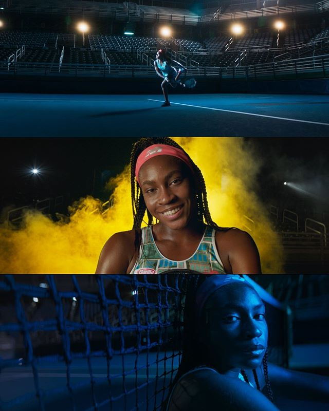 New work for @steptstudios featuring Coco Gauff and New Balance.  Director: @nickmartini  DP: @cam_riley