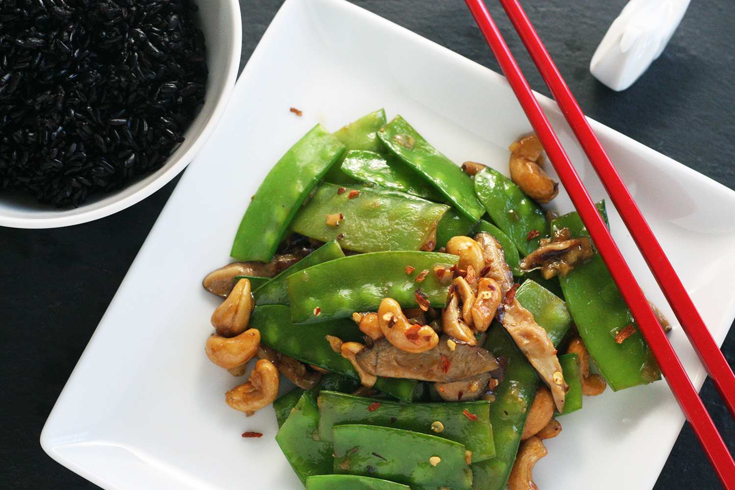 peapod stirfry recipe