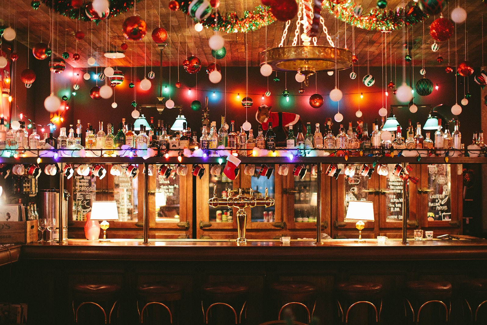 Fox Bar at Soho House in West Loop