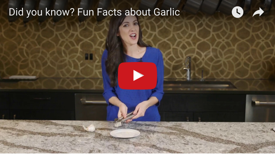 how to video about garlic