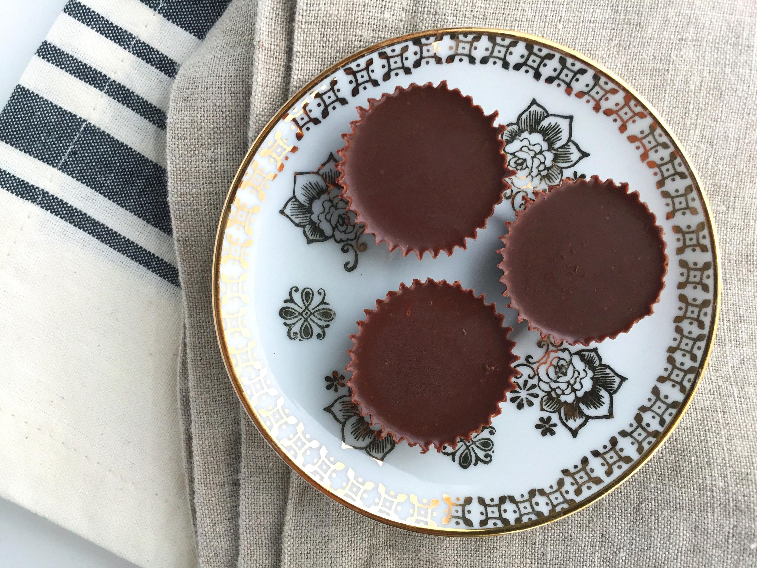 velvety chocolate coins