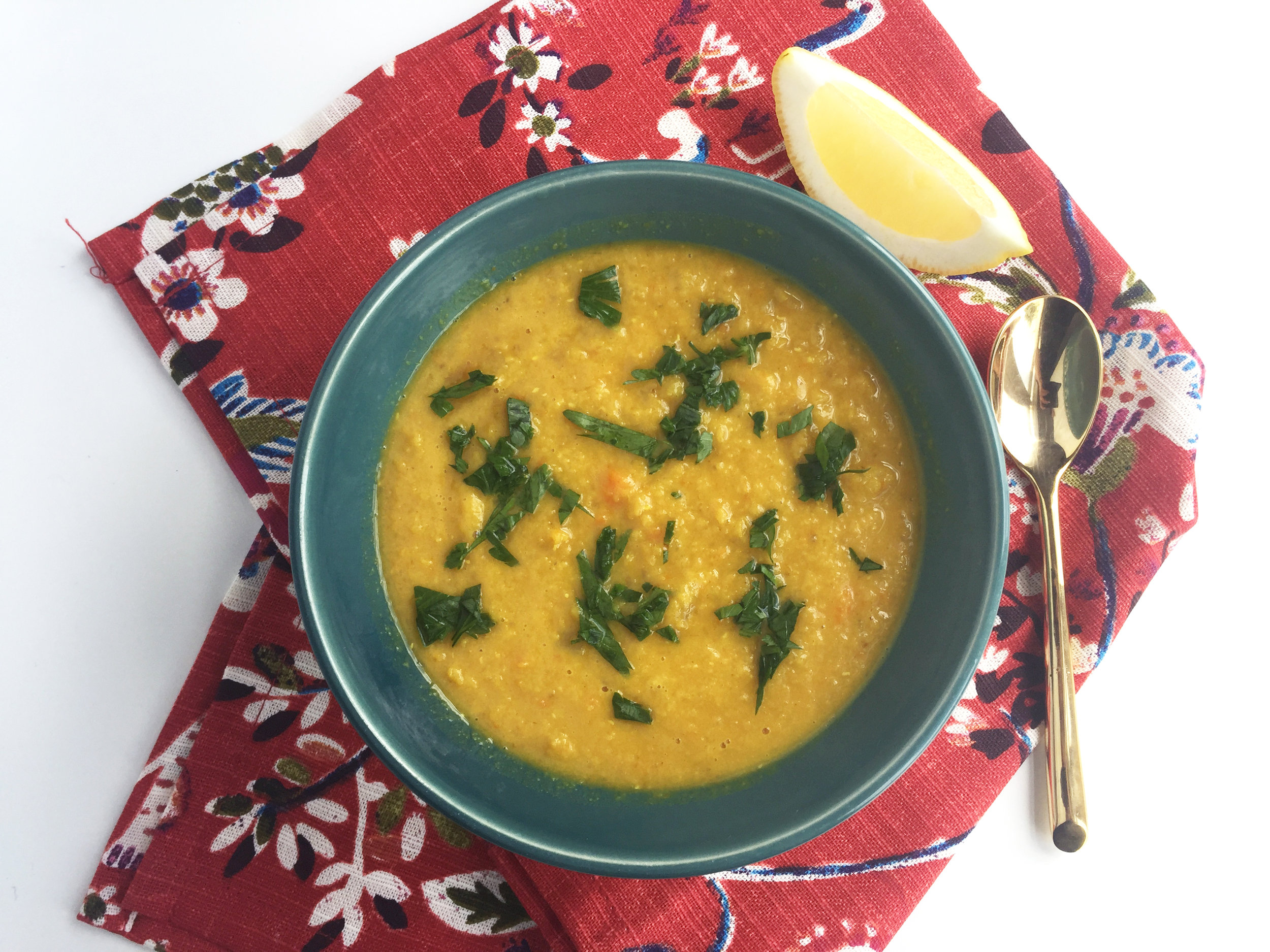 lebanese lentil soup recipe