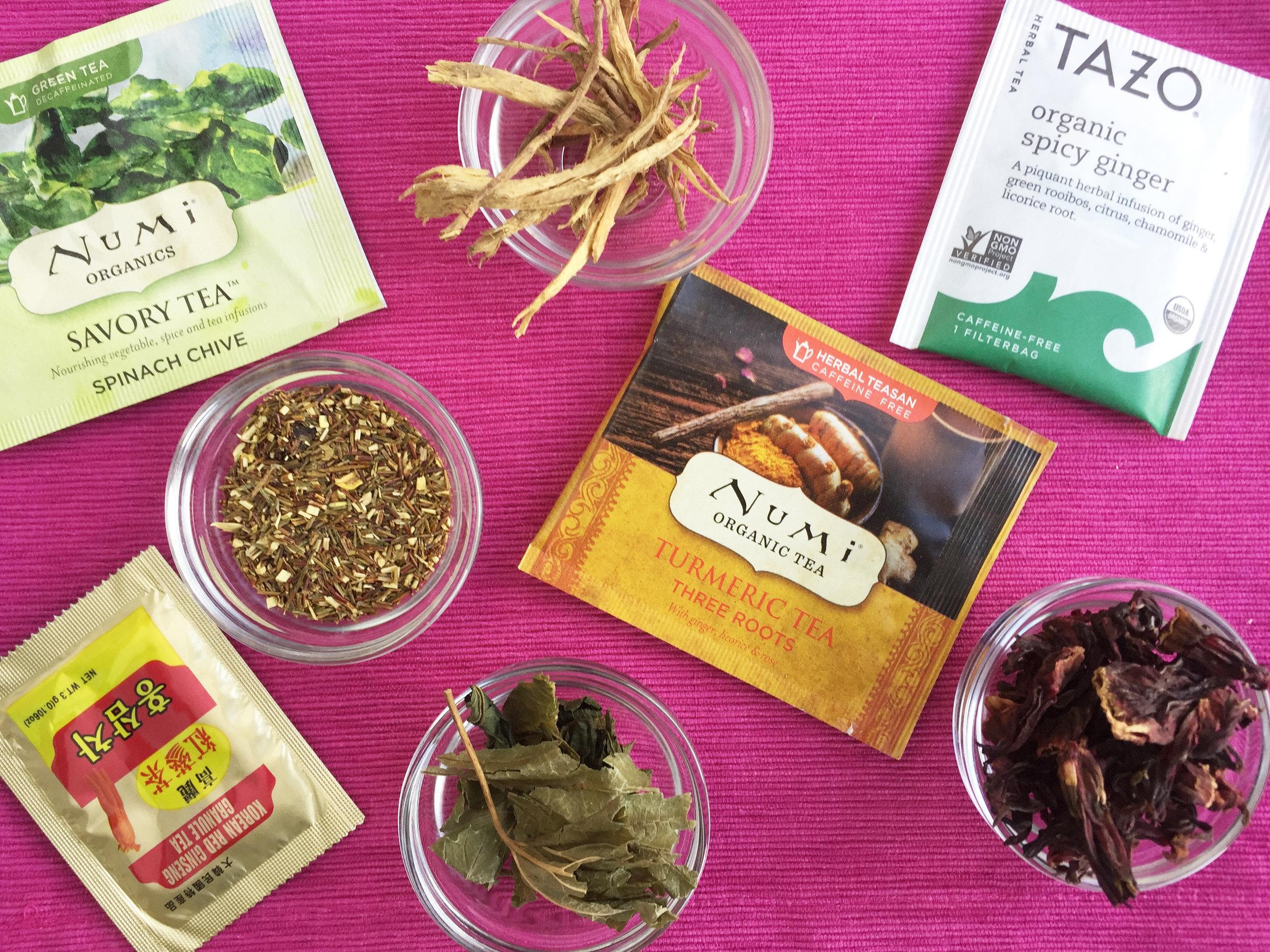 best healthy herbal teas