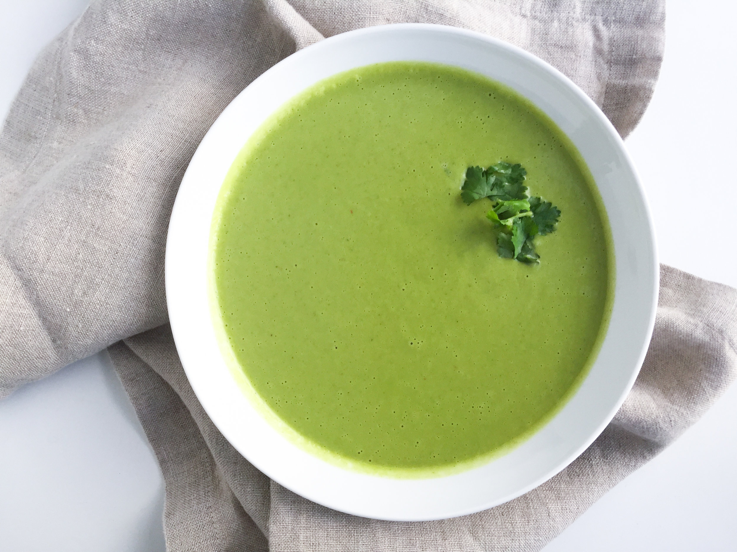green curry broccoli soup recipe