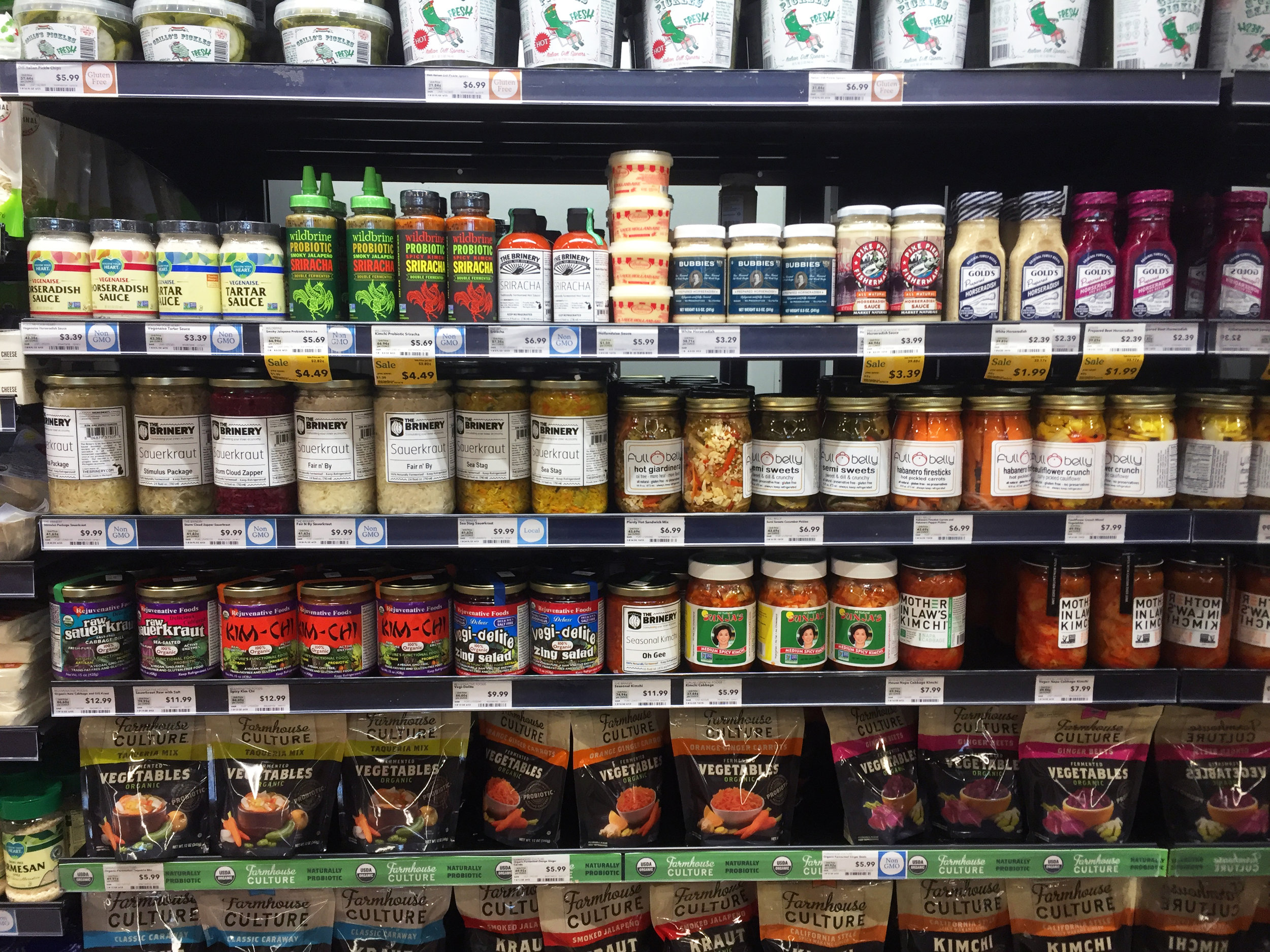 best storebought fermented foods for digestion