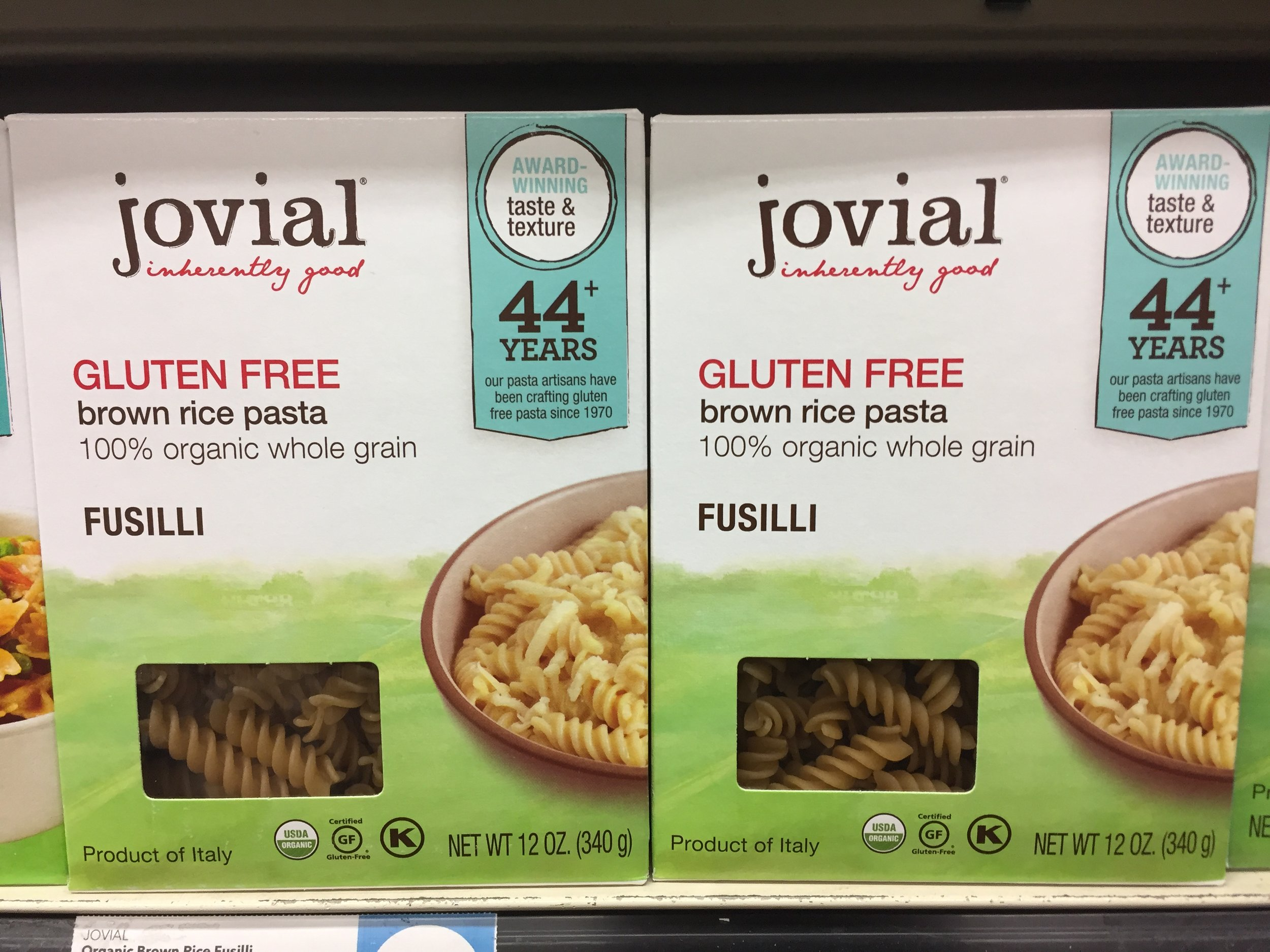 Jovial Brown Rice Pasta Review
