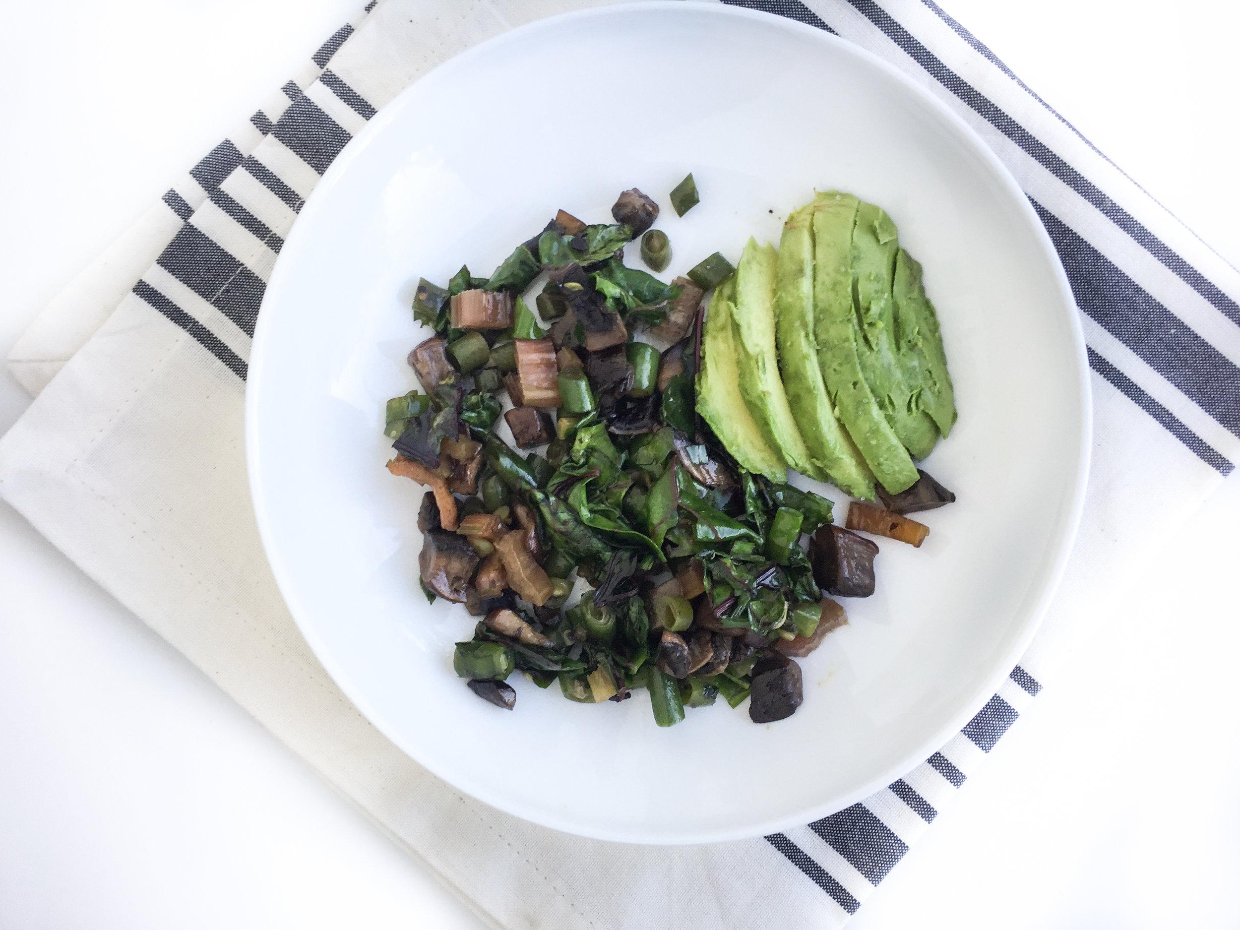 veggie breakfast bowl recipe