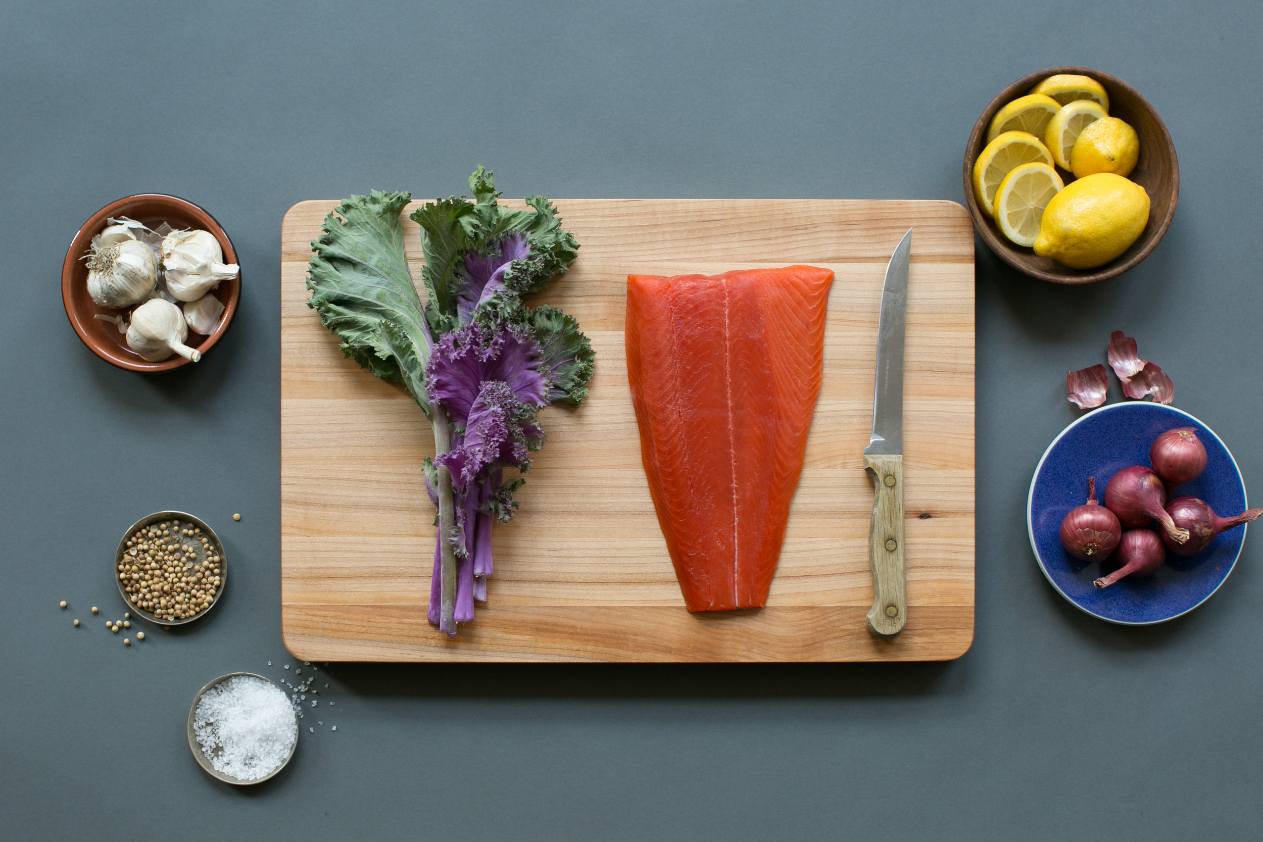 sitka salmon cooking class
