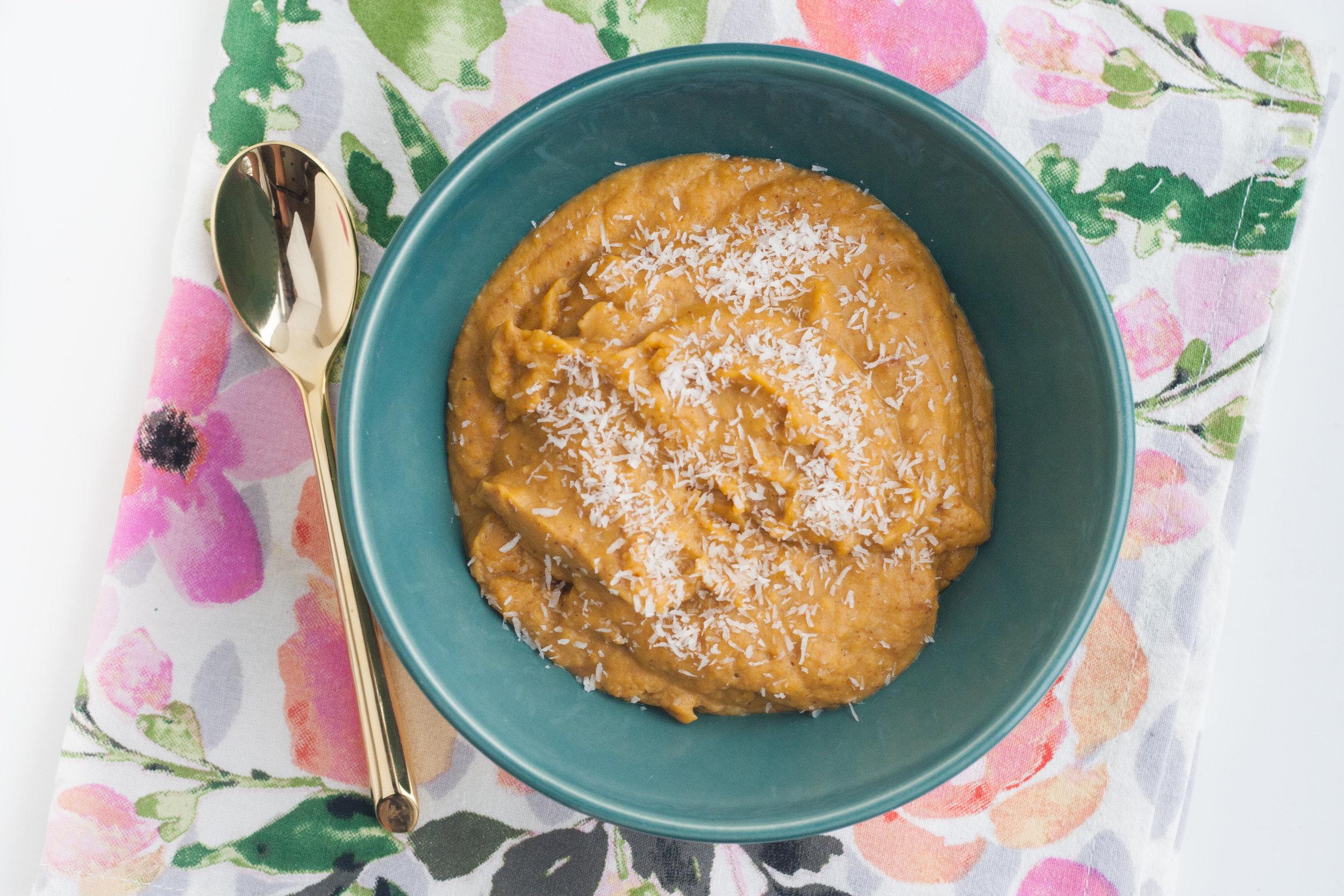 butternut squash noatmeal recipe
