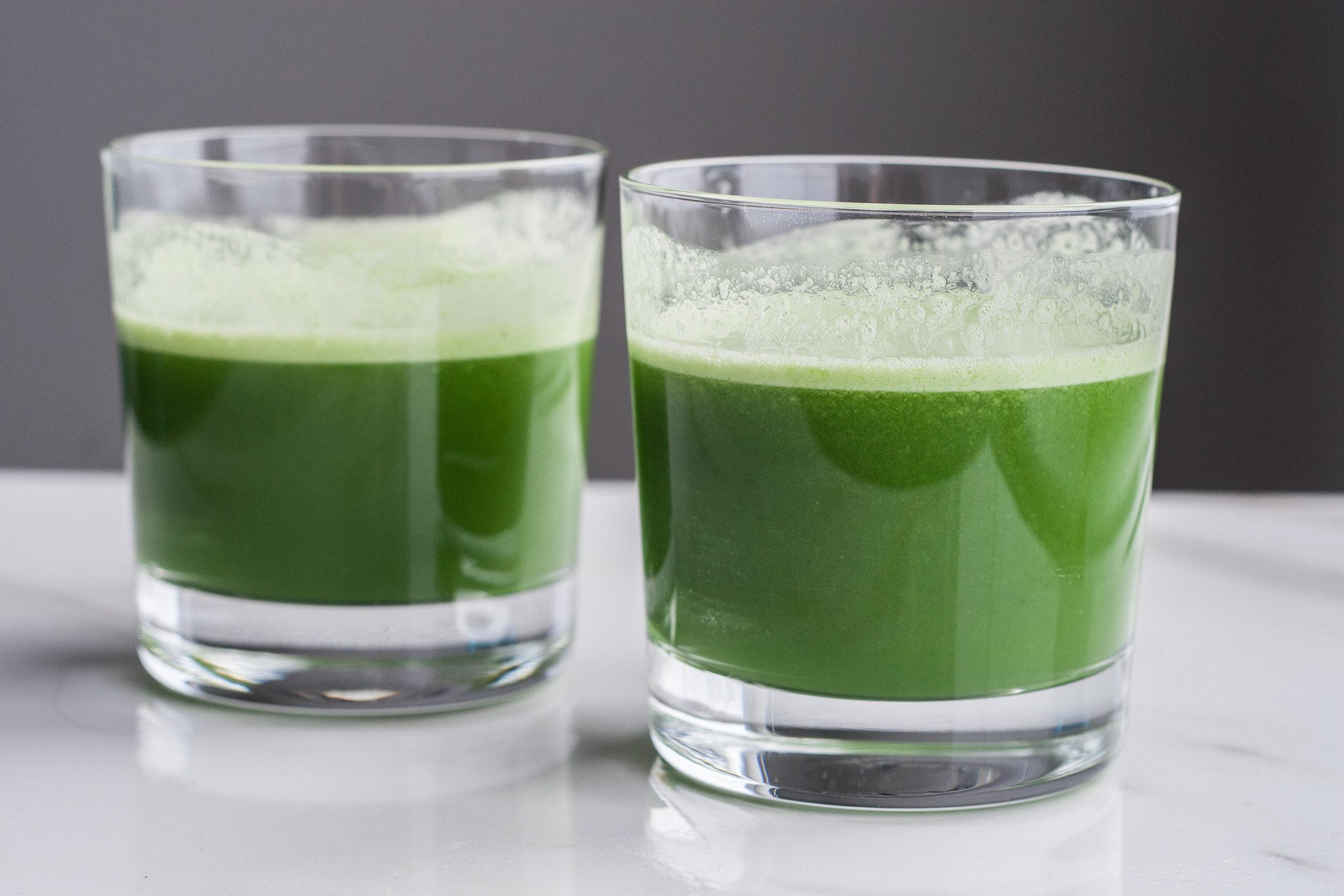 basic beginner green juice recipe