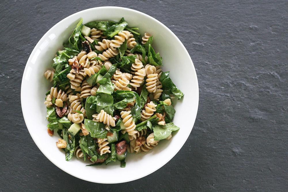spinach walnut pasta