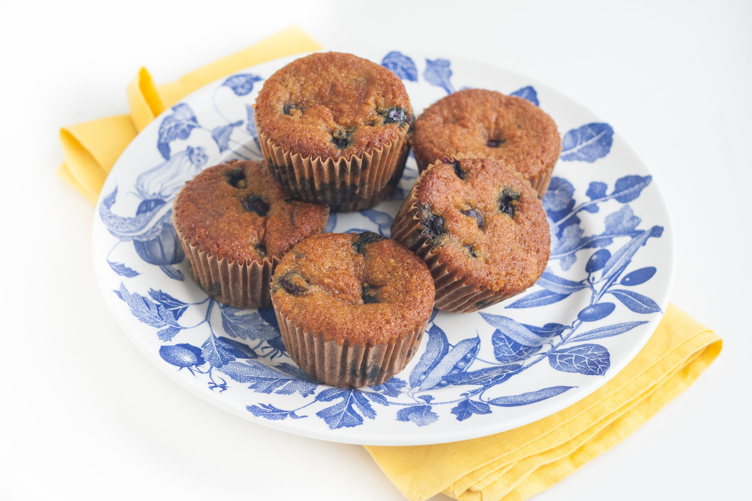 blueberry turmeric muffins recipe