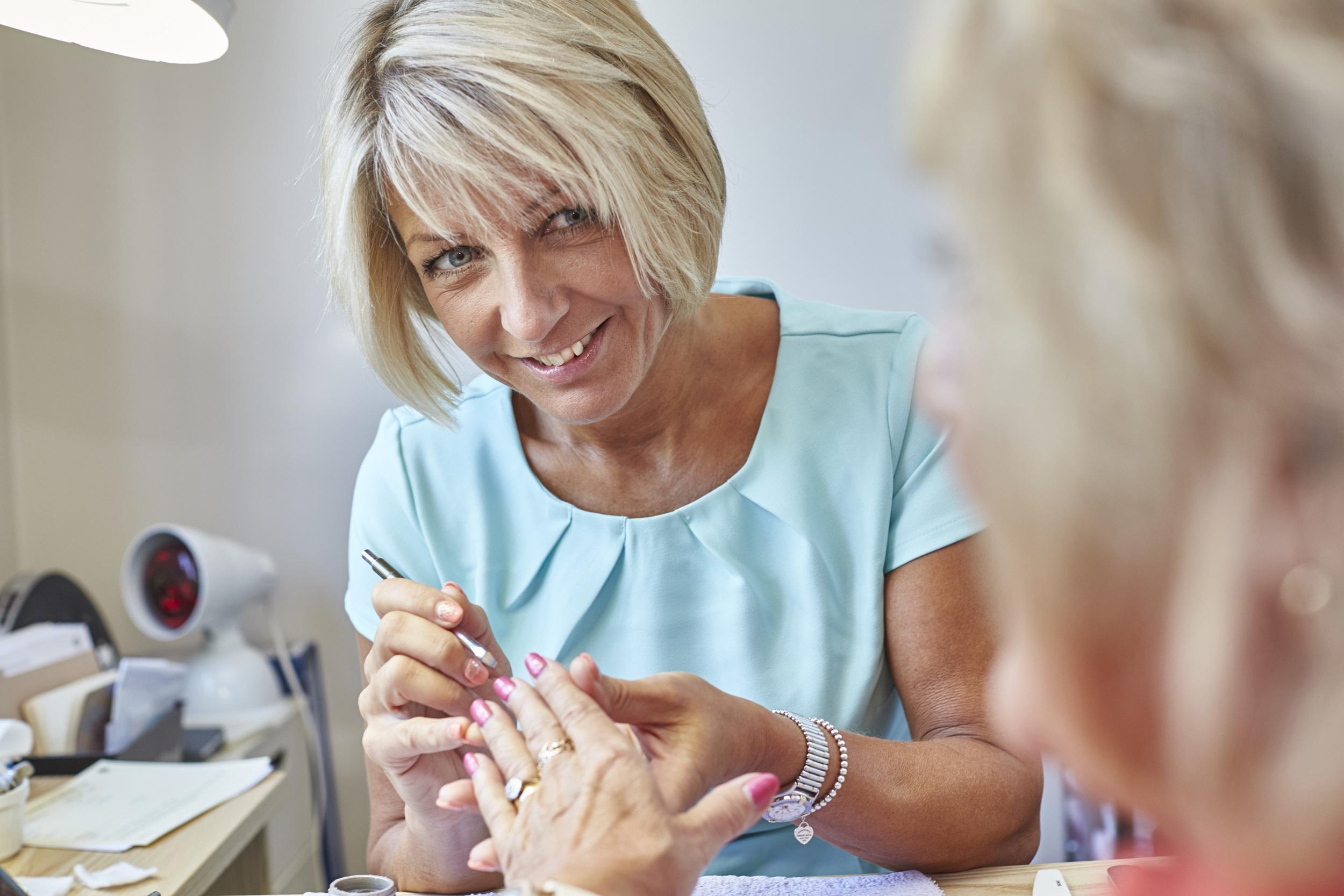 Manicure with BioSculpture Gels