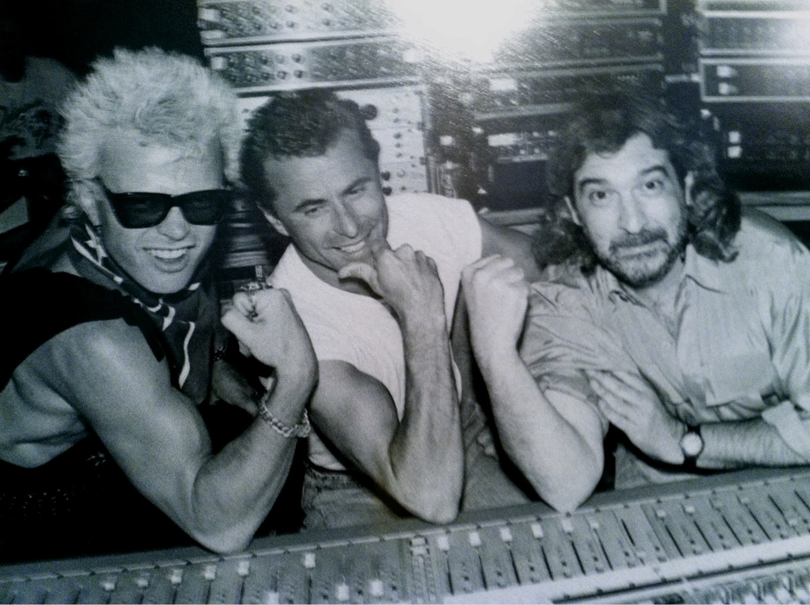Billy Idol & Keith Forsey