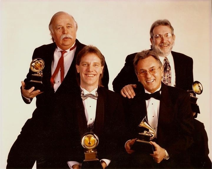 Bruce Swedien, Francis Buckley, Al Schnitt, in NYC. Q's Juke Joint