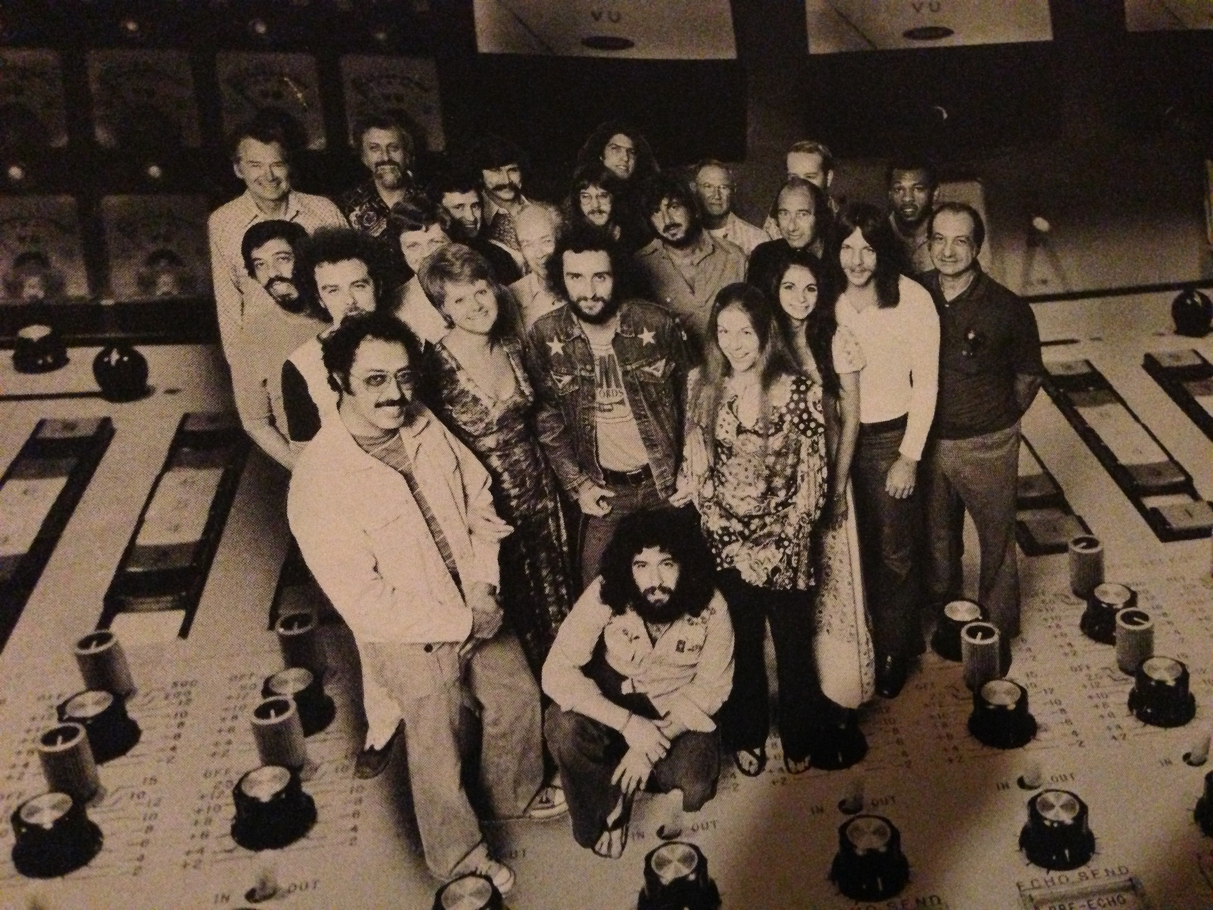 Studio Staff Publicity Shot.  Who's the guy kneeling?