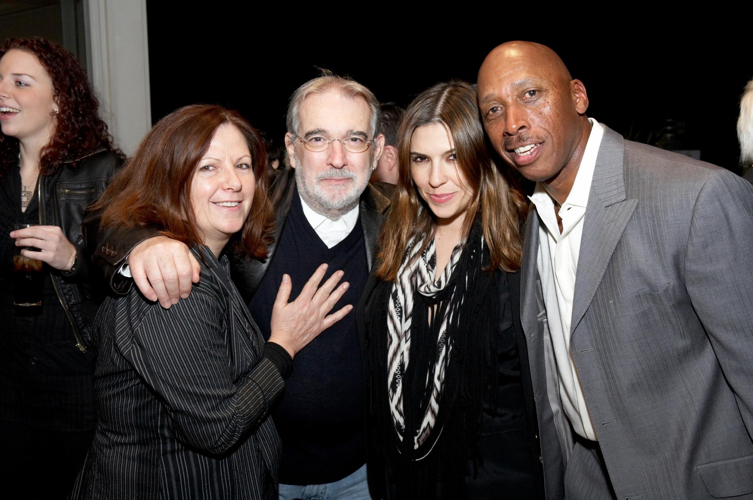 Diane, Veronique, & Jeffrey at Sammy's Grammy Party