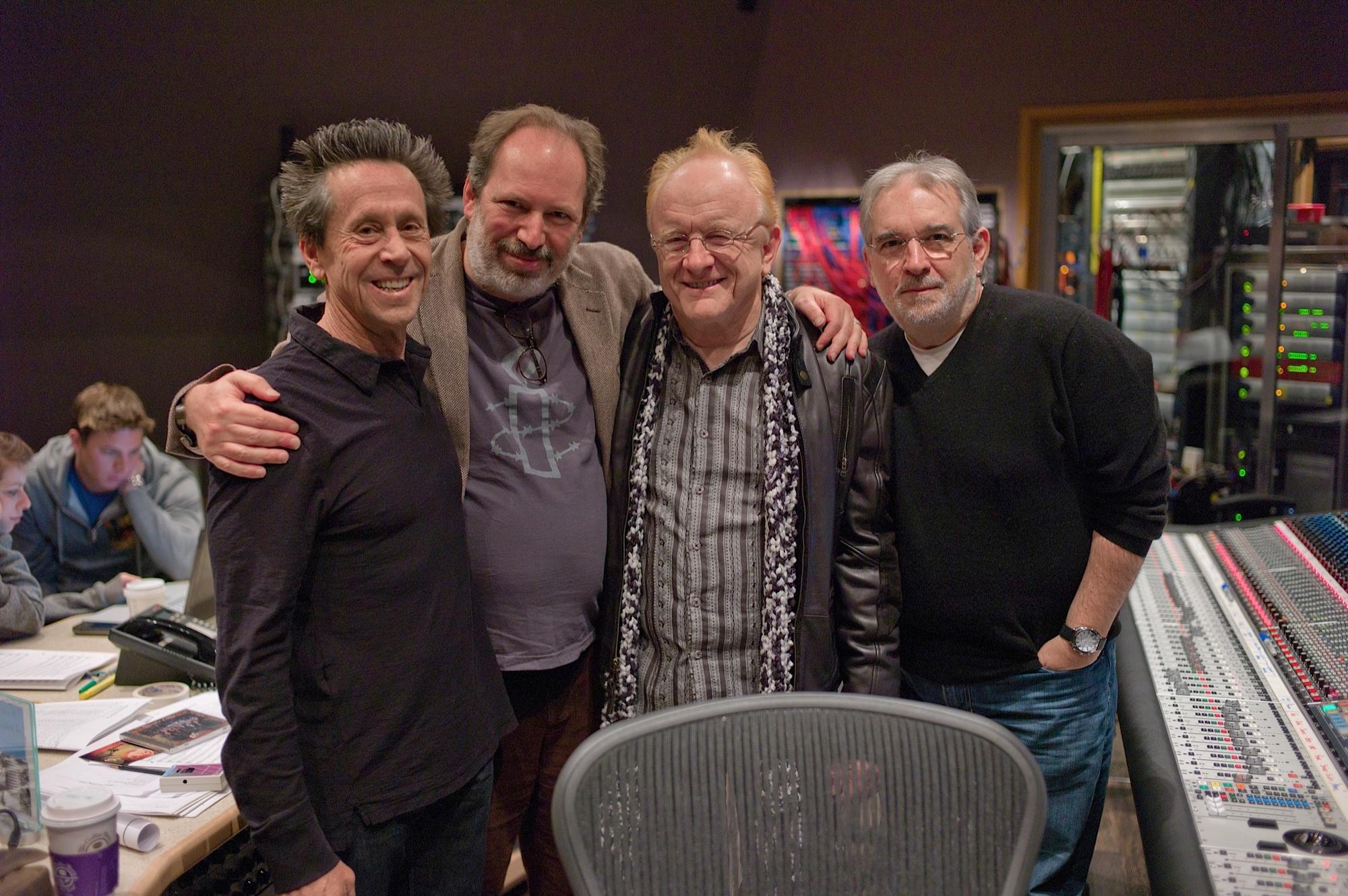 Brian Grazer, Hanz Zimmer, Peter Asher