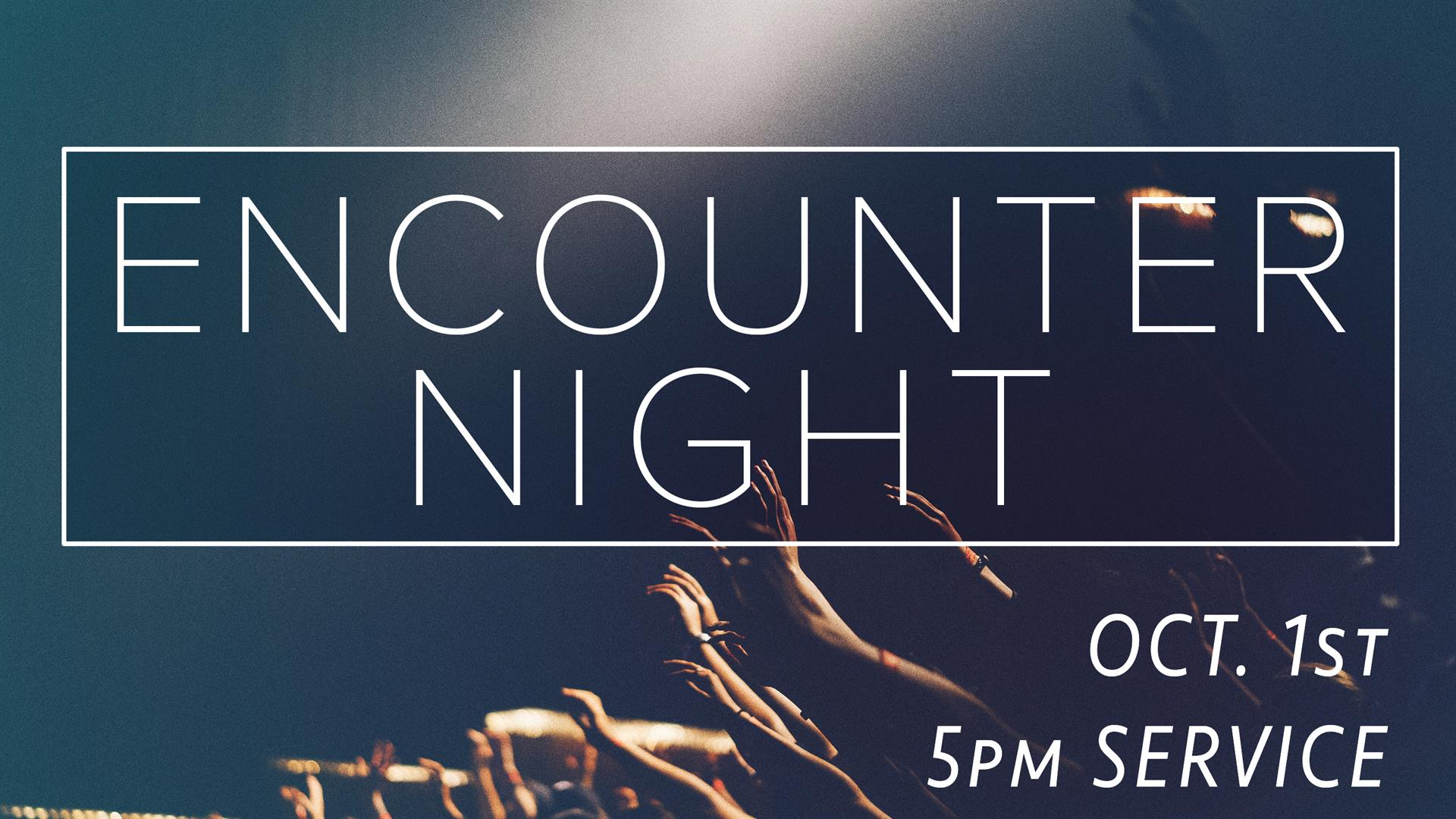 Come to Encounter Night on Sunday Night, October 1st as we press in, and go deeper to experience the power of the Holy Spirit. This will be a great night of ministry as we pray for the Baptism in the Holy Spirit and other spiritual gifts. We will have a special guest, Pastor Doug McAllister.
