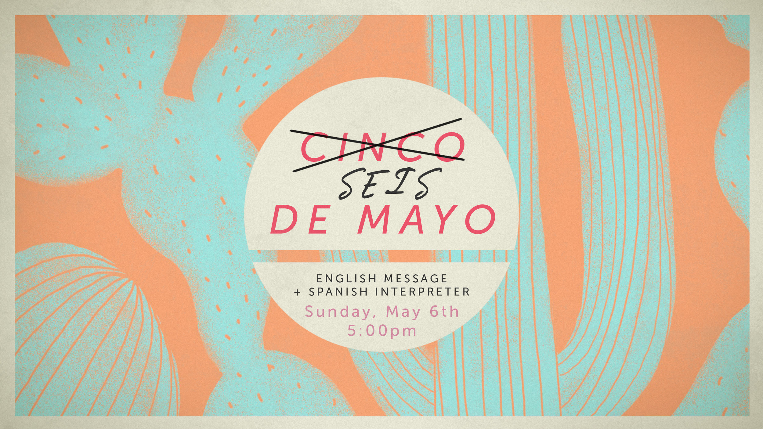 Our English and Reconciliación Spanish congregations are combining for a special service on Sunday, May 6th at 5 p.m. We will be worshipping together in English and Spanish along with a message preached by Pastor Kendall and interpreted by Pastor Martin. We will end the evening with a time of fellowship (aka…a time of eating) including tamales, rice, beans, hot dogs for the kids and a Christian Mariachi Band!