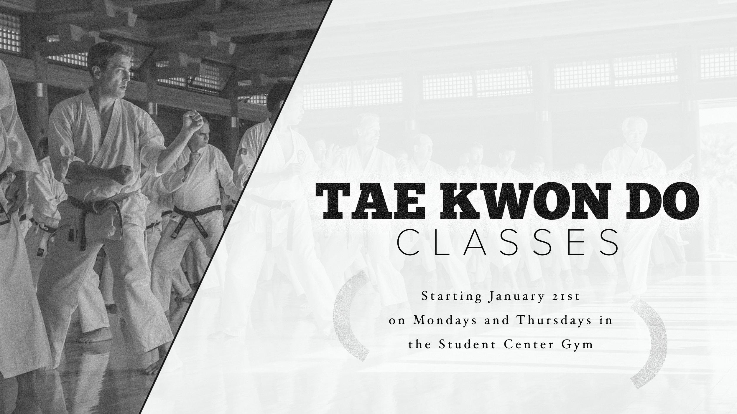 January 21 - Tae Kwon Do Classes.jpg