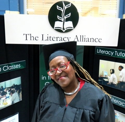 Shirley Duvall earned her High School Equivalency in 2014 and is now pursuing a degree in Business at Indiana Tech.
