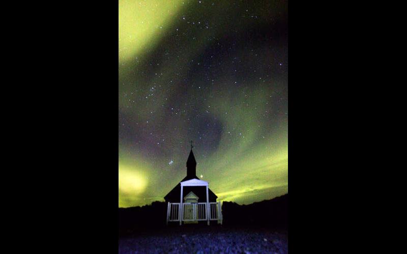 Night Sky at High Latitudes