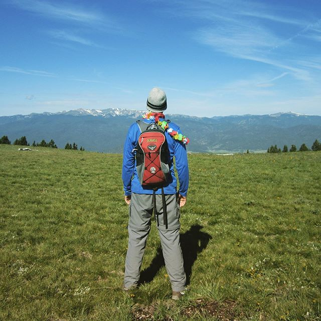 Music Meadows, Philmont day 7. One final breath before climbing Mount Baldy.