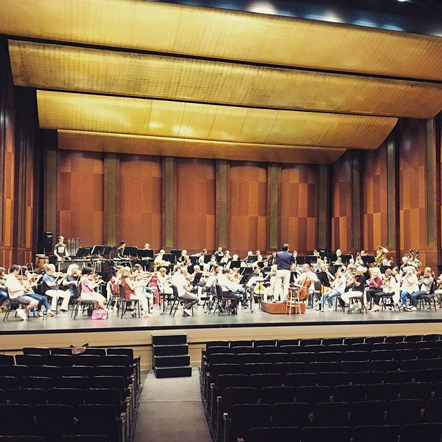 The rehearsals of 'Remix' have been wonderful. Tonight is the premiere at Bass Performance Hall!