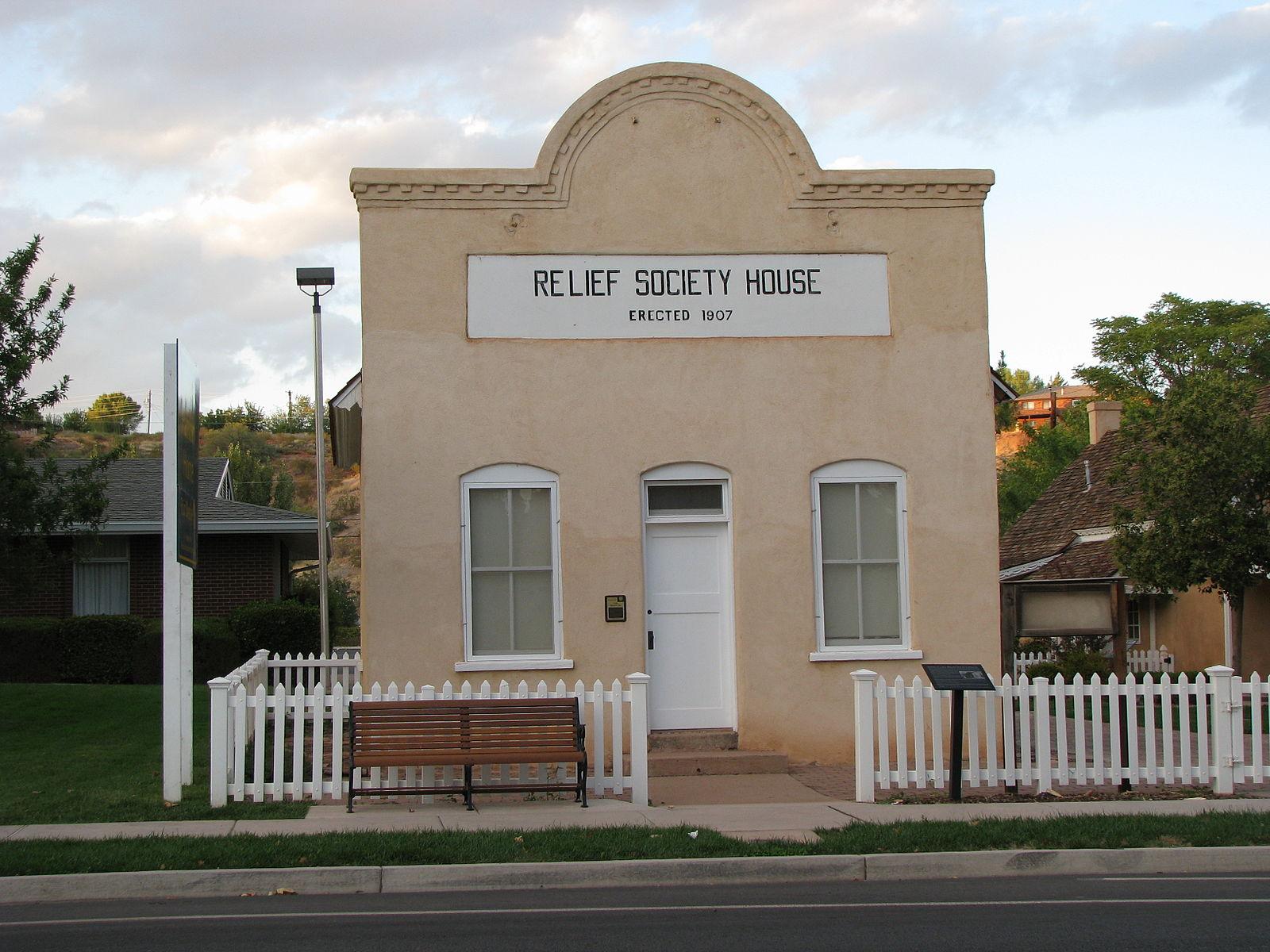 Relief Society House » Santa Clara, UT